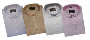 Men's Wear - Pack Of 4 Formal Shirts