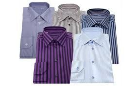 Men's Wear - Pack Of 5 Assorted Formal Shirts For Men