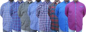 Men's Wear - Tangy Pack of 8 Assorted Checks Shirts