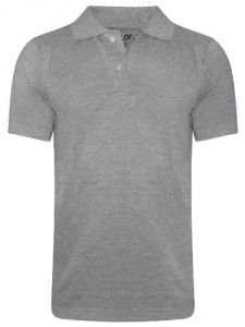 Tangy Men Grey Polo T-shirt- ( Code - 159506)