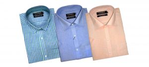 Formal Shirts (Men's) - Tangy Pack Of 3 Half Regular Fit Shirts