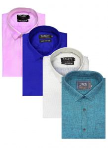 Pack Of 4 Formal Shirts