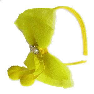 Kids' Wear - Tangy Kid's Ribbon Ear Hairband for Kids-(code-ribony)