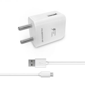 Chargers - Ambrane AQC-33 Quick Charge 2.0 Fast Charger with Charge & Sync USB Cable