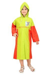 Winter wear & seasonal wear - Real Rainwear  Baggy Printed Pvc Fabric Rain coat For Kids - Rrmr