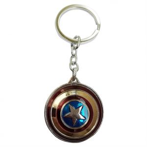 Jharjhar Captain America Key Chain (c) (code - Jv-127)