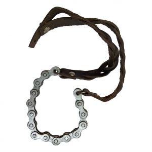 Tng,Jharjhar,Sleeping Story Women's Clothing - JHARJHAR LEATHER & CHAIN BRACELET (Code - JV-134)