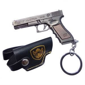 Jharjhar Fire Arms Gun Key Chain (f)-(code-jv-167)