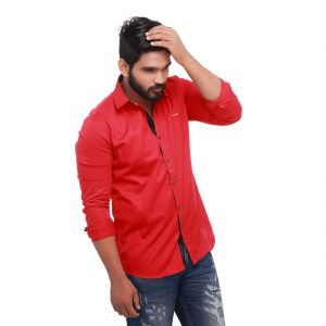 Red Club Slim Fit Men