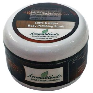Aromablendz Coffee Sugar Body Polishing Scrub 500gm