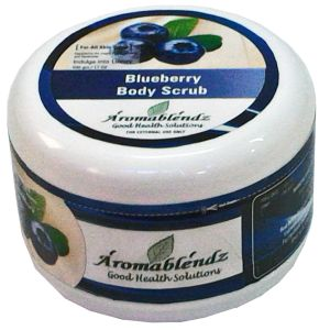 Aromablendz Blueberry Body Polishing Scrub 500gm