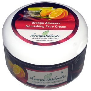 Aromablendz Orange & Aloevera Face Cream 500gm