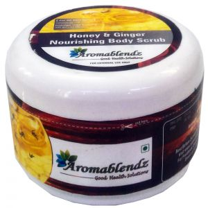 Aromablendz Honey & Ginger Body Polishing Scrub 500gm