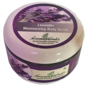 Aromablendz Lavender Body Polishing Scrub 500gm