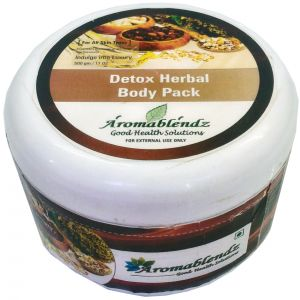 Aromablendz Detox Herbal Body Pack - Brown 500gms