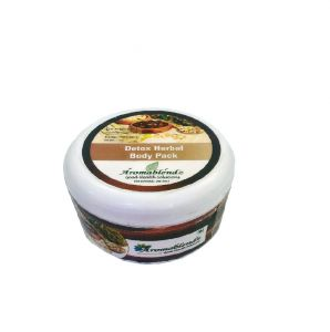 Aromablendz Detox Herbal Body Pack - Brown 150gms