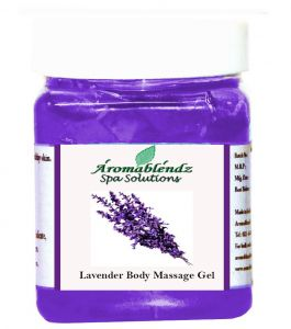 Aromablendz Lavender Body Gel 500 Gm