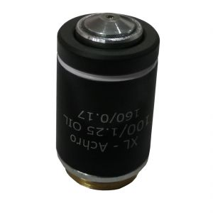 Labovision Semi Plan Achromatic Microscope Objective 100x Jis Oil Immersion