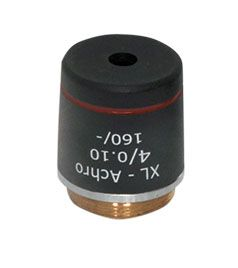 Labovision Semi Plan Achromatic Microscope Objective 4x