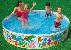 Inflatable Toys - Swimming Pool 5 Feet For Kids And Adults For Home