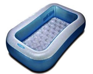 Rectangular Space Saving Intex Inflatable Baby Pool 5ft Swimming Pool