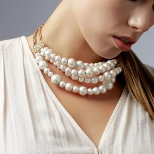 Kiara,Sukkhi,Ivy,Parineeta,Platinum,Asmi Women's Clothing - Sukkhi Ritzy Bollywood Inspired Pearl Necklace For Women - (Code - N72430GLDPD122017)