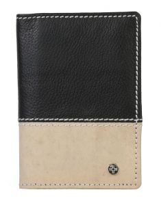 Jl Collections Genuine Leather Multiple Card Slots Card Holder (code - Jl_cc_3076_bk_br)