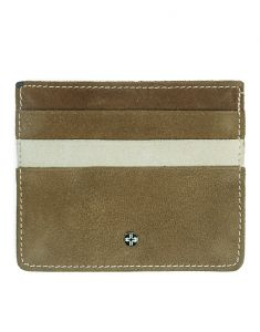 Jl Collections 6 Card Slots Unisex Leather Card Holder