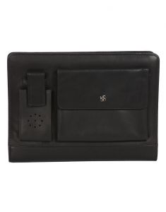 Jl Collections Leather Black Organizer