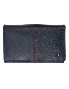Jl Collections 7 Card Slots Leather Ladies Wallet