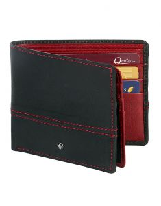 Jl Collections 12 Card Slots Blue And Red Men