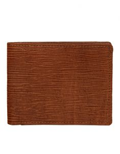 Wallets (Men's) - JL Collections Men's Brown Genuine Leather Wallet (6 Card Slots)