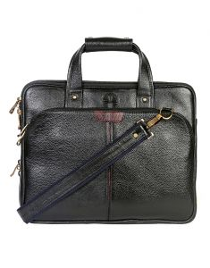 Jl Collections 15.5 Inches Leather Messenger Executive Bag For Laptop Briefcase Satchel Bag