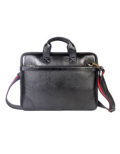 Jl Collections 16.5 Inches Leather Messenger Executive Bag For Laptop Briefcase Satchel Bag