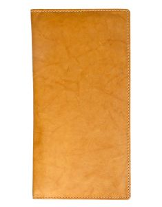 Jl Collections 10 Card Slots Golden And Beige Men