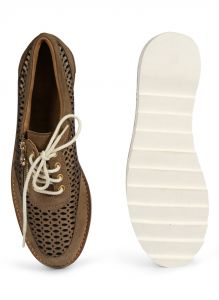 Casual Shoes (Women's) - JL Collections Brown Women's Shoe (Product Code - JL_WS_01)
