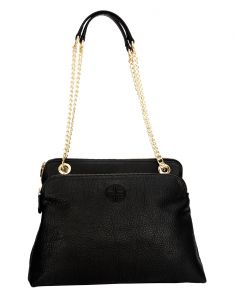 Jl Collections Womens Leather Black Shoulder Bag (code - Jlfb_3437)