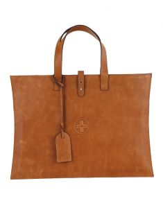 Jl Collections Tan Leather Handheld Bag (code - Jlfb_3470)