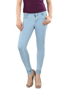 Jeans (Women's) - Shirley Women's Stone Blue Ultra Soft Jeans JEANS5POCKET-StoneBlue