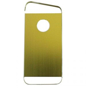 Samshi Metal Back Case Cover For Apple iPhone 5 - Light Green