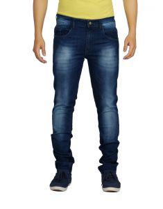 Jeans (Men's) - Eupli Denim Faded Dark Blue Men's Jeans