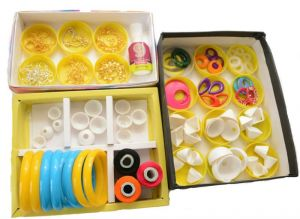 Silk Thread Jhumkas/bangles Making Kit
