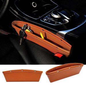 ININDIA  Car Storage -Pure Leather Made ( Hand Made)Leather Black