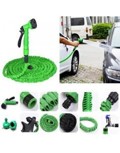Inindia Expandable Magic Hose Kit Car /home/garden Water Cleaner Cum Washer - 10 Metres