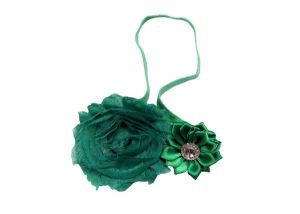 Inindia Cute Greenzy Floral Head Band