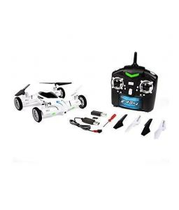 Inindia Flying Car Quadcopter 2.4ghz Space Explorer - White