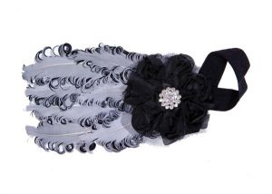 Inindia Elegant Two-tone Comfort Head Band