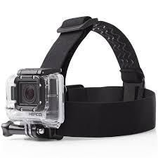 Camera Accessories (Misc) - ININDIA Gopro Head Strap Mount for All Hero Models