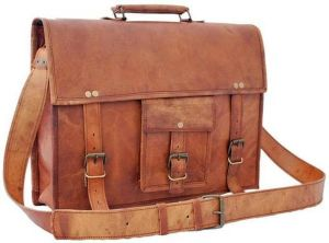 Inindia Laptop And Casual Bag (brown)bag_9*11inch