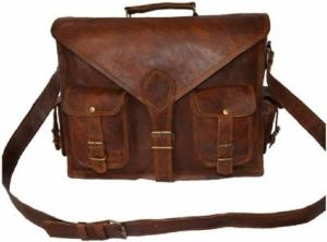 Inindia Laptop Messenger Bag (brown) 11inch*15inch